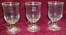 Set of Three Richmond Verreries de Soignies Durobor Irish Coffee Glasses 24cl