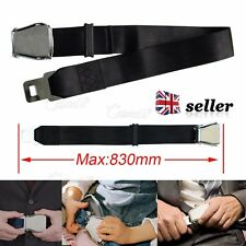 UK New Adjustable Airplane Seat Belt Extension Extender Airline/Buckle Aircraft