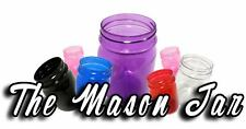 20 16 OZ Clear Plastic Mason Jars Cup Wedding Favors Canning BPA FREE