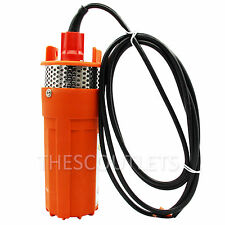 24v Irrigation Submersible Deep Well Dc Solar Water Pump, Strainer