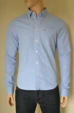 NEW Abercrombie & Fitch Kilburn Mountain Blue Stripe Shirt L RRP £82