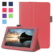Smart Luxury PU Leather Stand Magnetic Case For Amazon Kindle Fire 7 2015-Red
