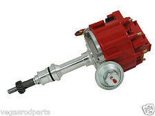 Ford SB 289 302 65K Coil HEI Electronic Distributor - red Cap mustang falcon