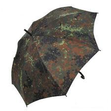Regenschirm f. Jäger tarnfarben Regenschutz Angler flecktarn Bundeswehr BW Jagd
