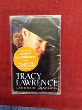 Tracy Lawrence:  Lessons Learned (Cassette, 2000, Atlantic) NEW