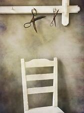STILL LIFE KITCHEN SCISSORS CHAIR RUSTIC ART PRINT POSTER PICTURE BMP1240A