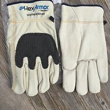 Hexarmor Cut Resistant Gloves Steelleather III 5033 Size 10 XL 1 Pair 5033-XL