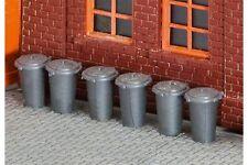 Faller 180905 HO 1/87 10 Poubelles - 10 Rubbish bins