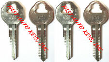 4 (FOUR) NEW 1941-1964 BUICK CHEVROLET GM OEM IGNITION UNCUT KEY BLANKS - SET