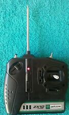 park zone  zx10 airplane transmitter