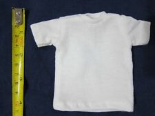 "1/6 Scale Tee Hot White Short Sleeves T-Shirt For 12"" Action Figure Toys"