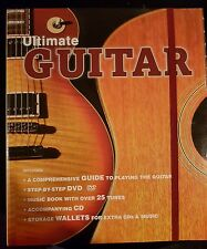 The Ultimate Guitar Book with DVD & CD PLUS EXTRA CD FOR ACOUSTIC FREE.