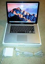 """Apple MacBook Pro 15"""" Early 2011, Intel i7 2GHz, 8GB RAM, 1TB HD, Office, Sierra"""
