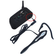 V6-1200m Bluetooth Intercom with Earhook Earphone Suit for Referee Judge/Biker