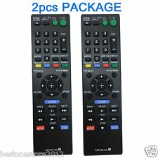 2PCS NEW Replacement Sony Blu-ray Remote Control RMT-B119A for BDP-S390 BDP-S590