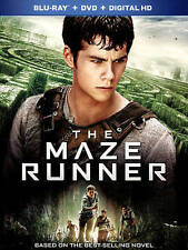 The Maze Runner (Blu-ray/DVD, 2014, 2-Disc Set, Includes Digital Copy) With DVD