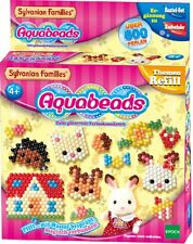 HomeD5) Aquabeads (79418) Sylvanian Families Set 600 Perlen kleben ohne bügeln