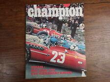 AUTOMOBILE MOTO : Revue CHAMPION No 31 (1968) NSU 1000 TTS Kawasaki 250 Racer
