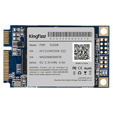 KingFast F9M SSD 512GB mSATA3.0 6Gbps Solid State Drive MLC Flash for PC Laptop