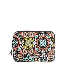 VERA BRADLEY~QUILTED U-ZIP E-READER SLEEVE~SIERRA~FITS I-PAD MINI-ETC~BNWT!