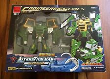 Alteration Man Transformer Bootleg Engineering Doombringer Machine Boy Toys