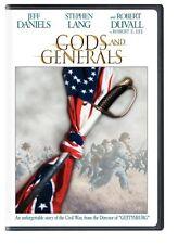 Gods and Generals  DVD Stephen Lang, Robert Duvall, Jeff Daniels, Donzaleigh Abe