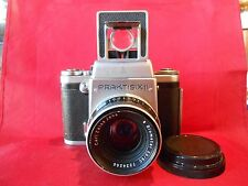 Praktisix 2a LS Spiegelreflexkamera mit Objektiv Biometar 2,8/80 Carl Zeiss Jena