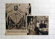 1937 Fishing Nets Decorations Scheveningen, To Honour Marriage Princess Juliana,