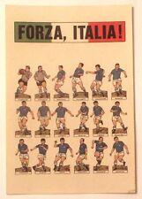 Cartolina Illustrata Nazionale Italiana Di Calcio - Forza, Italia!