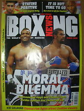 BOXING NEWS 17 MAY 2012 DAVID HAYE v DERECK CHISORA - DIVIDED OPINION