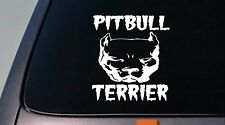 "PITBULL TERRIER American pit bull pitbull 6"" decal  rescue Amstaff abkc *B162*"