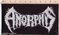 AMORPHIS EMBROIDERED PATCH DEATH METAL MORGOTH UNLEASHED NILE DOOM Metal Negro