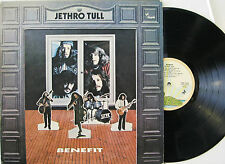 "JETHRO TULL ""BENEFIT""  lp Italy palm label near mint"
