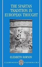 The Spartan Tradition in European Thought (Clarendon Paperbacks)-ExLibrary