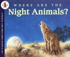 Where Are the Night Animals? (Let's-Read-and-Find-Out Science 1)-ExLibrary