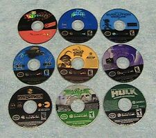 9 NON WORKING GAMES FOR NINTENDO GAMECUBE SONIC, SPYRO FREE SHIPPING