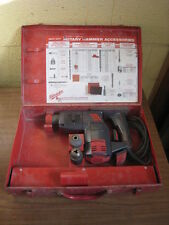 """Milwaukee 5303-02 1-1/8"""" Heavy Duty Corded Electric Rotary Hammer Drill in Case"""
