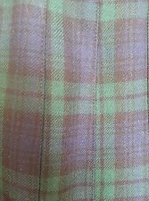 JH COLLECTIBLES CLASSIC TARTAN PLAID PLEATED 100% WOOL SKIRT SIZE 10 NWOT