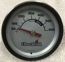NEW Charbroil Char-Broil Grill Replacement Temperature Gauge Free Shipping