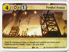 A Game of Thrones LCG - 1x fortified posizione #050 - continente occidentale Draft Pack