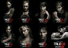 POSTER TRUE BLOOD VAMPIRES VAMPIRI SEASON 1 2 3 DVD #4