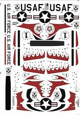 Warbird What If USAF Thunderbirds Flew P-51D Mustangs in 1948 Decals 1/48 013