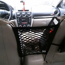Seat Side Middle Storage Mesh Net Pouch Bag Hook Hanger Holder Pocket Bag Cage