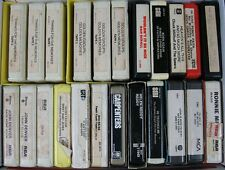 Lot of 23 8 Track Tapes Mostly Memories & Country