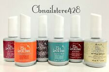 IBD Just Gel Polish-Set of any 6 bottles .5oz- Choose From Base/Top/Colors/Bond