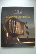 Architectural Design Contemporary Museums 1997 Architektur