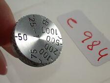 Orig. Leica Leitz M 39 Ersatzteil Spare Part Verschlußzeiten-Rad Speed Dial (6)