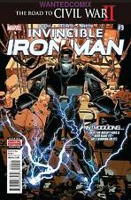 INVINCIBLE IRON MAN #9 MAY 2016 MARVEL COMIC CIVIL WAR 1st RIRI WILLIAMS FINE 1