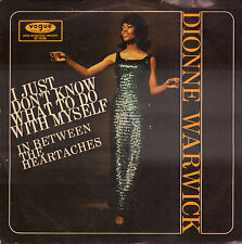 "DIONNE WARWICK ‎– I Just Don't Know What To Do With Myself (1966 7"" GERMANY)"