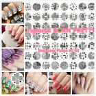 Original BORN PRETTY 01-55 Nail Art Stamping Printing Template Image Plates New